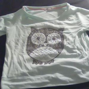 Long sleeve owl shirt